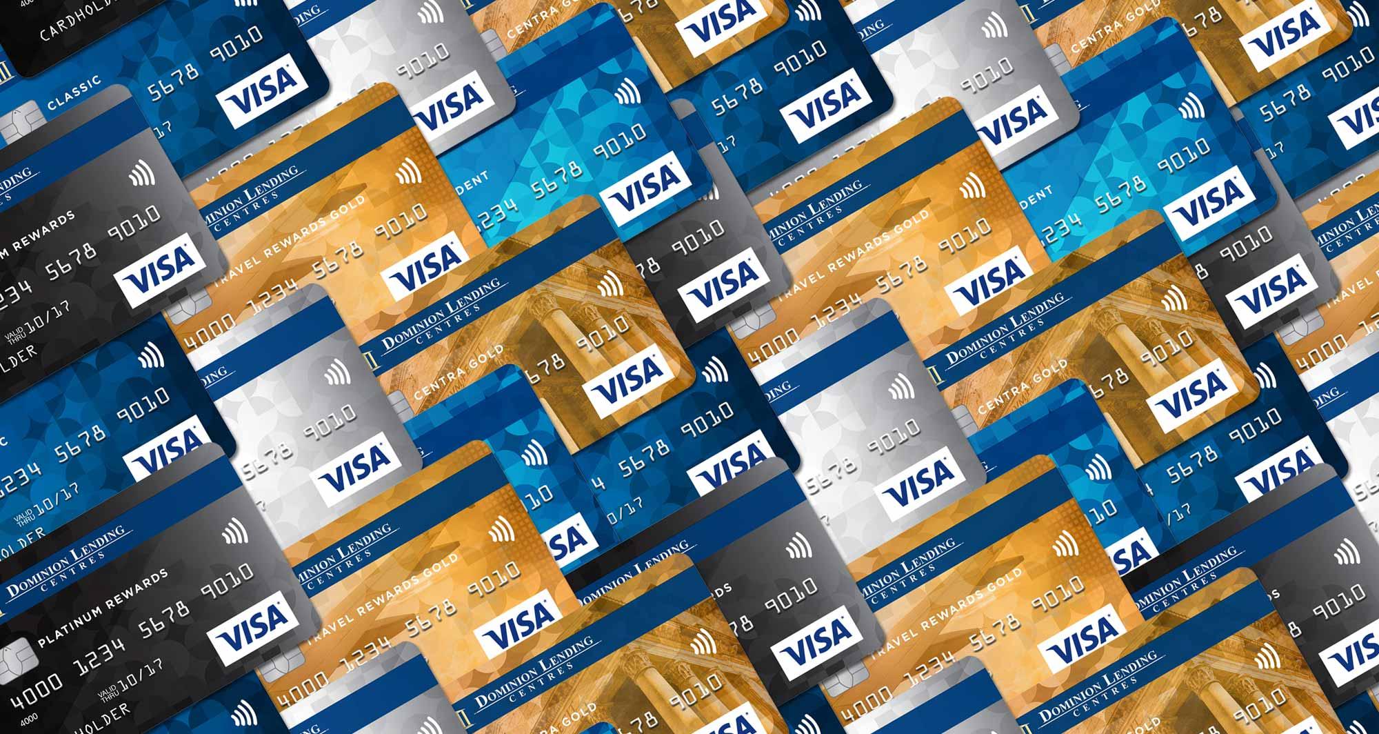 Tirez parti des cartes Visa de prêt Dominion banner